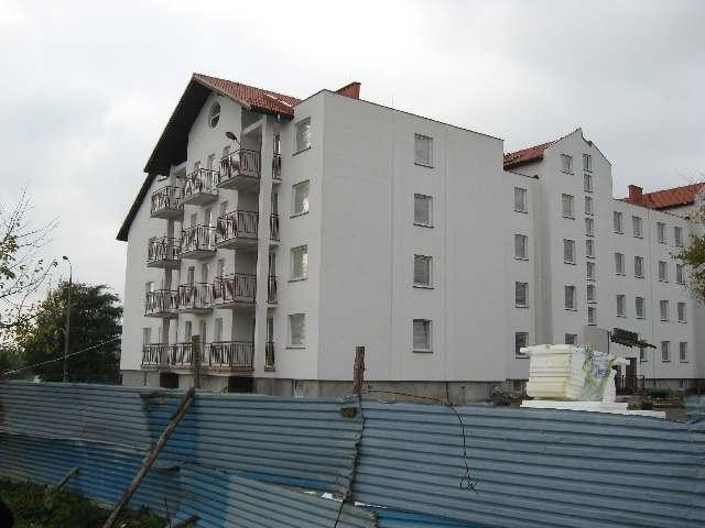 Północna stra budynku